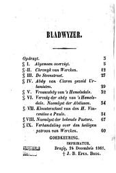 Parochieboek of beschryving van Wercken