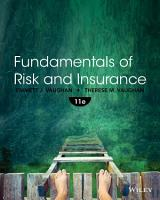 Fundamentals of Risk and Insurance  11th Edition PDF