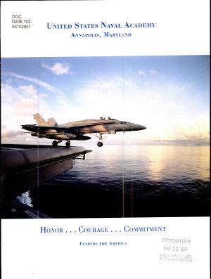 United States Naval Academy  Annapolis  Maryland PDF