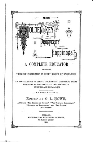 The Golden Key to Prosperity and Happiness