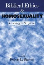 Biblical Ethics & Homosexuality
