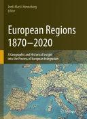 European Regions, 1870 – 2020