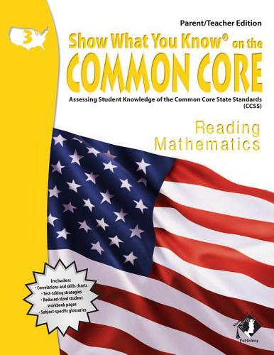 Swyk On The Common Core Gr 3 Parent Teacher Edition