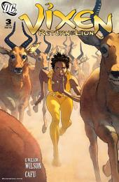 Vixen: Return of the Lion (2008-) #3
