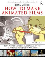 How to Make Animated Films PDF