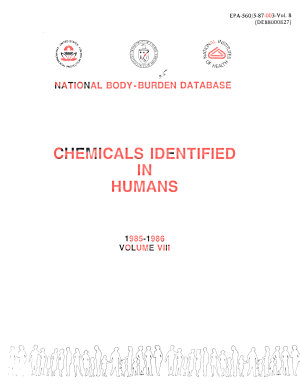 Chemicals Identified in Humans PDF
