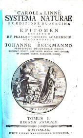 Systema naturae: Volume 1