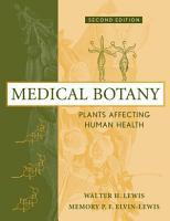 Medical Botany PDF