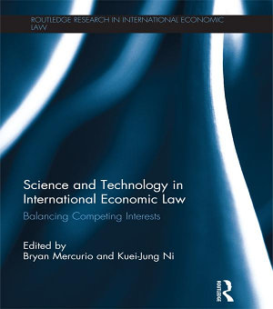 Science and Technology in International Economic Law PDF
