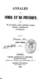 Annales de chimie et de physique: Volume6
