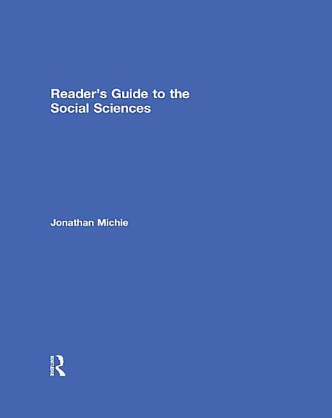 Reader's Guide to the Social Sciences