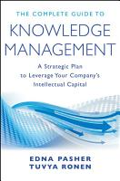 The Complete Guide to Knowledge Management PDF