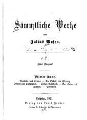 Wendelin und Helene. Die Bräute von Florenz. Johann von Österreich. Herzog Bernhard. Der Sohn des Fürsten. Cromwell