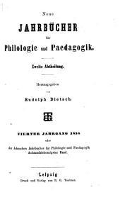 Neue Jahrbücher für Philologie und Paedagogik: Band 78