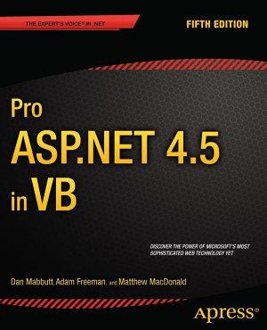 Pro ASP NET 4 5 in VB PDF