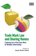 Trade Mark Law and Sharing Names