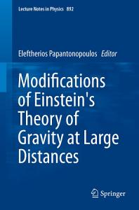 Modifications of Einstein s Theory of Gravity at Large Distances PDF