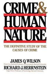 Crime Human Nature Book PDF