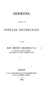 Sermons, intended for popular instruction
