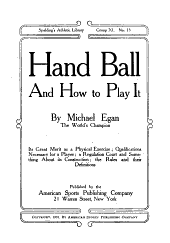 Hand Ball and how to Play it