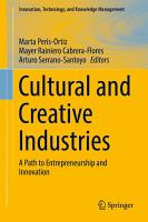 Cultural and Creative Industries PDF