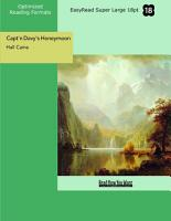 Capt n Davy s Honeymoon  EasyRead Super Large 18pt Edition  PDF