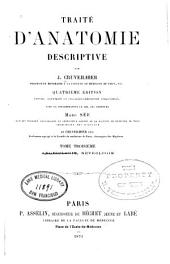 Traite d'anatomie descriptive v. 3: Volume 3,Partie 2