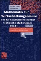 Mathematik Fur Wirtschaftsingenieure Und Fur Naturwissenschaftlich Technische Studiengange PDF