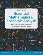 Essential Mathematics for Economic Analysis: Edition 5