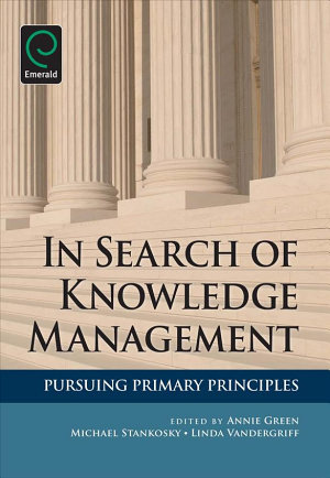 In Search of Knowledge Management PDF