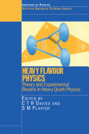 Heavy Flavour Physics Theory and Experimental Results in Heavy Quark Physics
