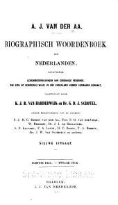 Biographisch woordenboek der Nederlanden: pt.1. H-Heze