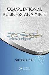 Computational Business Analytics Book PDF