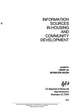 Information Sources in Housing and Community Development PDF