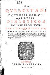Diaeteticon polyhistoricon
