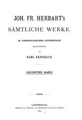 Sämtliche werke: in chronologischer Reihenfolge, Band 6
