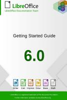 Getting Started with LibreOffice 6 0 PDF