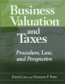 Business Valuation and Taxes