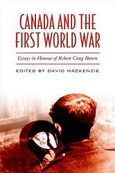 Canada And The First World War Book PDF