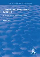 The Free  the Unfree and the Excluded PDF