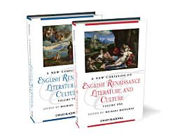 A New Companion to English Renaissance Literature and Culture PDF