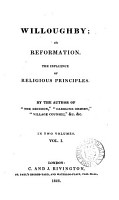 Willoughby  or Reformation  by the author of  The decision   PDF