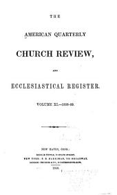 The Church Review: Volume 11