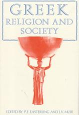 Greek Religion and Society