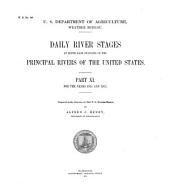Daily river stages at river gage stations on the principal rivers of the United States