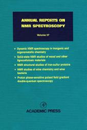 Annual Reports on NMR Spectroscopy: Volume 37