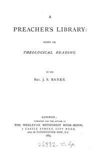 A preacher s library PDF