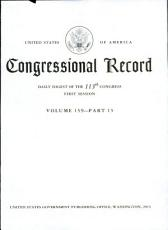 Congressional Record  Daily Digest of the 113th Congress  First Session Volume 159   Part 15 PDF