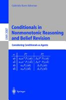 Conditionals in Nonmonotonic Reasoning and Belief Revision PDF