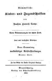 Sammtliche Kinder- Und Jugend Schriften: Band 8